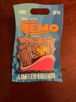 Disney Pin Finding Nemo Celebrating 15 Years Anniversary Nemo & Marlin LE