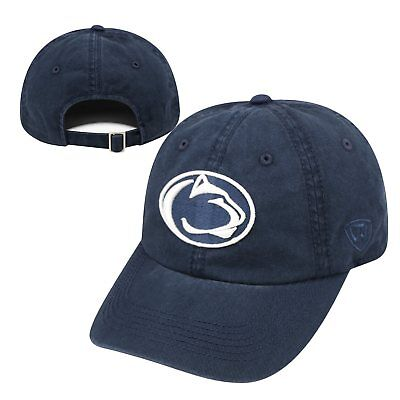 hot sale online 82116 bb3de Penn State Nittany Lions NCAA Adjustable Womens Crew Hat Cap Top of the  World