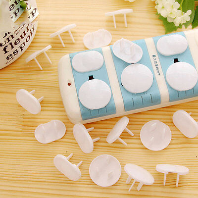 20 Pcs Power Socket Outlet Plug Protective Cover Baby Child Safety Protector ND