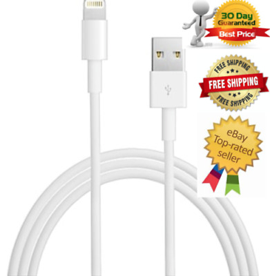 10 Pack Set - USB Sync Data Charging Charger Cable Cord for iPhone 5s 6 7 8 8+ X