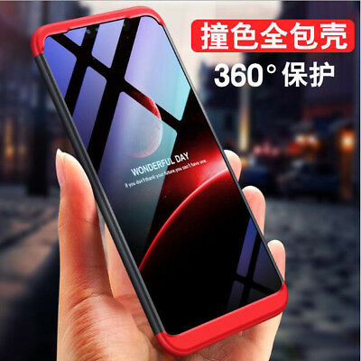For Xiaomi MI 8 SE 360° Full Protective Hybrid Shockproof  Hard Silm Case Cover