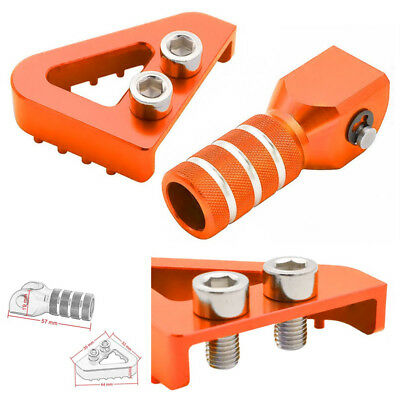 Motorcycle Gear Shift Lever Tip Rear Brake Pedal Step Set For KTM EXC EXCF EXCW