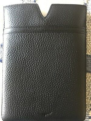 Rm Williams Mini iPad Holder Black Leather With Logo