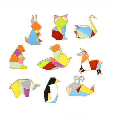 Women Cartoon Animal Penguin Swan Enamel Brooch Pin Costume Jewellery Gift LG