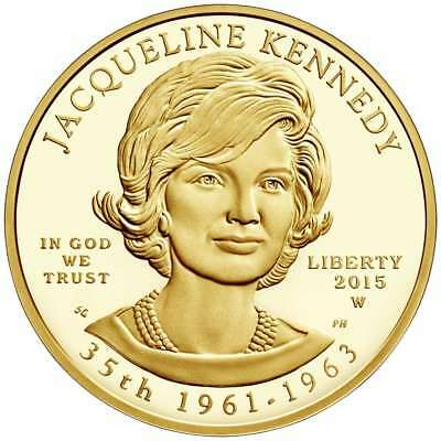 Test - 2015-W Proof $10 Gold First Spouse Jacqueline Kennedy NGC PF70UC First Re