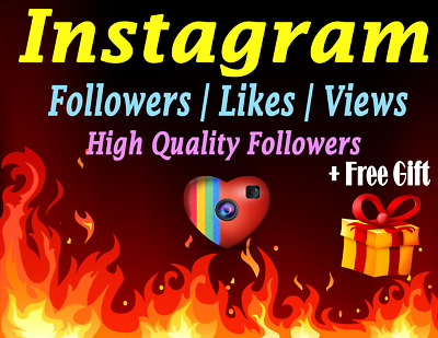 Instagram Service Follow |Followêrs |likês | Cheap | High Quality | + FREE GIFT