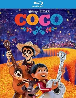 Coco (Blu-ray Disc ONLY, 2018)
