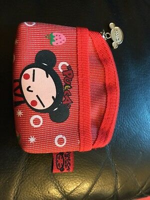 EUC Red PUCCA Strawberry Coin Purse Wallet USA SELLER