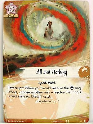 Legend of the Five Rings LCG 1x #091 Iuchi Shahai All and Nothing