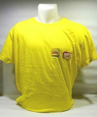 "LIPTON ICE TEA LAY'S Tee-shirt mixte ""Summer day's "" taille L neuf"