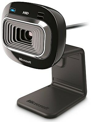 Microsoft LifeCam HD-3000 HD Skype Webcam with Microphone for PC (CLR-14470)