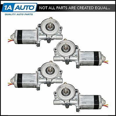 Power Window Motor Kit Set of 4 for Crown Vic Marauder Grand Marquis Town Car