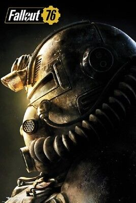 FALLOUT 76 - T51b POWER ARMOR POSTER, SIZE 24x36