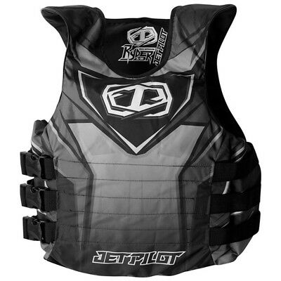Jet Pilot Ryder Side Entry Nylon PFD Life Jacket Black Small/Medium