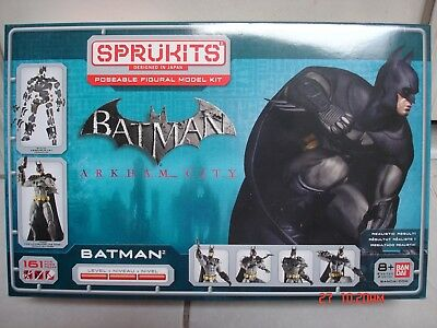 "BATMAN:ARKHAM CITY SpruKits Level 3 Bandai 9"" Model Figure 161pcs"