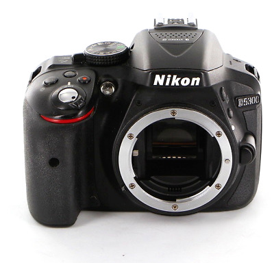 Nikon D5300 24.2 MP Digital SLR Camera - Black (Body Only) shipping from Japan
