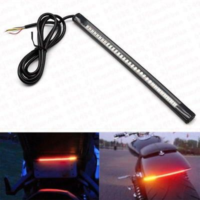 Flexible Motorcycle 48 LED Strip Rear Tail Brake Stop Turn Signal Lights Lamps