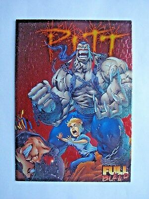 1995 Intrepid Pitt *ashcan Character* Embossed Foil Chase Card C11