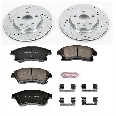 Power Stop K5550 High Performance Brake Upgrade Kit Cross-Drilled and Slotted Ro