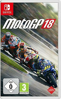 Moto Gp 18 Switch Nuovo + Conf. Orig.