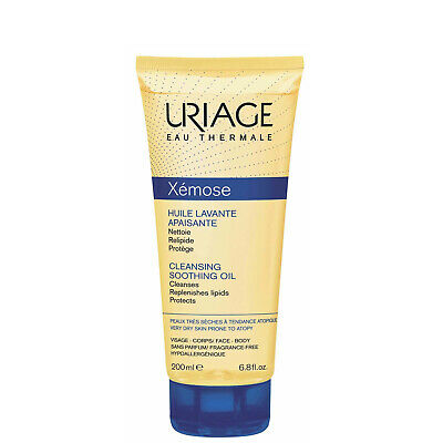 NEW Uriage Eau Thermale Xemose Cleansing Soothing Oil 200ml