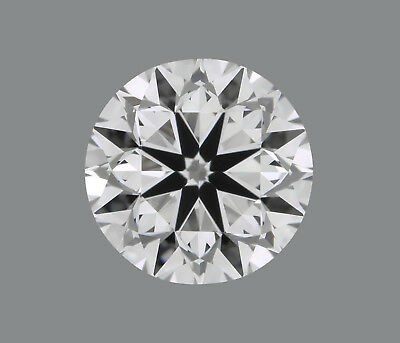 Diamant rond 0.51ct - IF/D - CERTIFIE GIA - VG/EX/VG Faint - VENDU à PRIX CASSE
