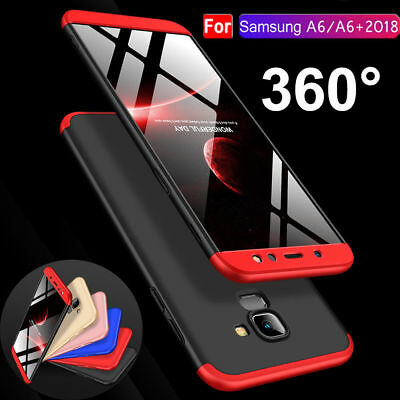 For Samsung Galaxy A6 Plus 2018 New 360° Shockproof Protective Hybrid Case Cover