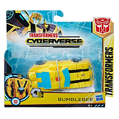 Transformers Cyberverse Azione Attackers: 1-Step Changer Bumblebee Action Figure