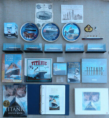Selection Of Titanic Memorabilia & Other Related Items.