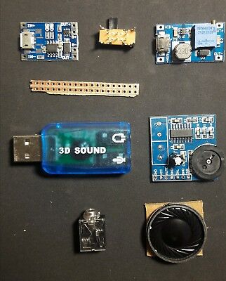 Electronics components for Gameboy zero