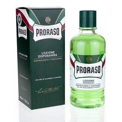 PRORASO After Shave Menthol & Eukalyptus 400ml Profigröße new formula