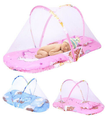 Folding Mousquito Bed Canopy Tent Outdoor Crib Net Netting Baby Infant Newborn