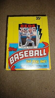 1986 Topps Baseball Wax Box Fresh from Sealed Case! (NS10,57,61)