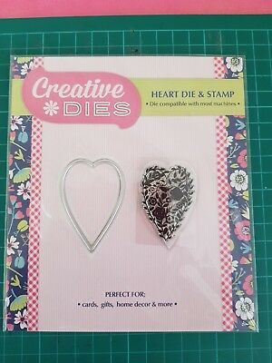 Creative Dies Heart Die & Stamp - New