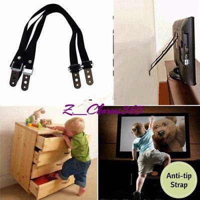 Metal Anti-Tip Furniture Straps, Childproof TV Baby Proof And Wall Anchor C