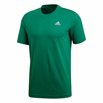 375cf066d64a ADIDAS HERREN ESSENTIALS Tee   T-Shirt CW3805 Bright Green - EUR 21 ...