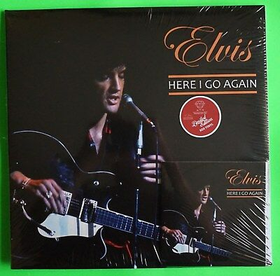 Elvis Presley - HERE I GO AGAIN LP/CD COMBO RED VINYL