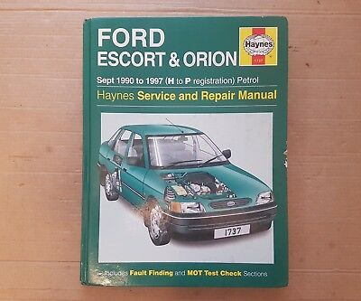 ford escort mk5 mk6 orion inc xr3i van cabriolet haynes manual rh picclick co uk ford escort mk5 repair manual download ford escort mk5 repair manual download