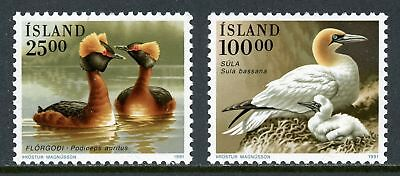 Iceland Scott #721-722 MNH Birds FAUNA Ducks CV$7+