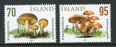 Iceland Scott #1087-1088 MNH Mushrooms FLORA CV$4+