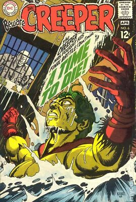Beware the Creeper (1st Series) #6 1969 VG 4.0 Stock Image Low Grade
