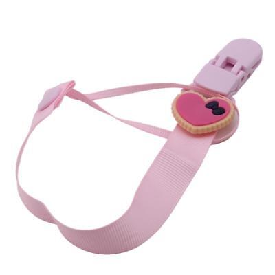 Toddler Baby Infant Dummy Pacifier Soother Nipple Chain Clip Holder C