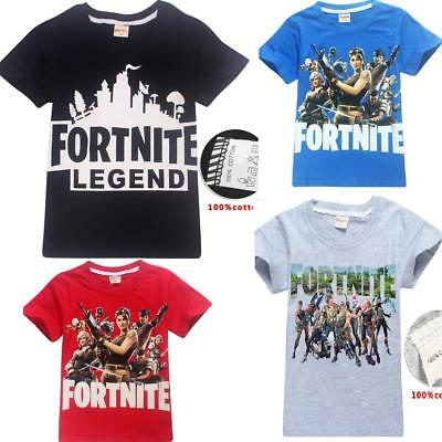 Fortnite Game Kids T-shirts Tops T shirts tshirts gifts party XBOX One PS4
