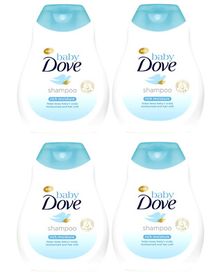 4-pack Dove Baby Rich Moisture Shampoo 200ml