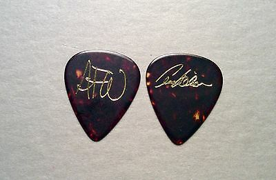LOOK - Vintage HEART Ann Wilson gold on tortoise shell style AFW guitar pick!!!