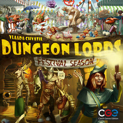 Festival Season - Dungeon Lords Expansion - Strategy Boardgame