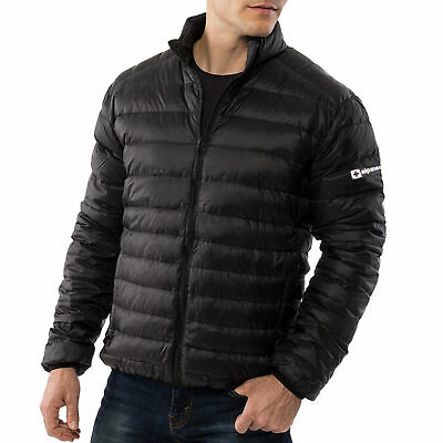Alpine Swiss Niko Packable Light Men's Down Jacket Puffer Bubble Coat Warm Parka