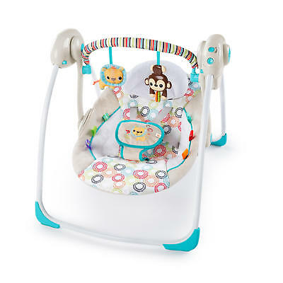 Baby Portable Swing in Petite Jungle