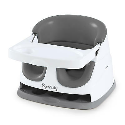 Baby Base 2-in-1 Booster Seat in Slate