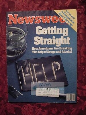 NEWSWEEK June 4 1984 Alcoholism Drug Addiction Steven Spielberg Olympic Arts +++